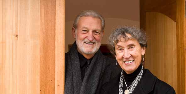 Founders Richard and Phyllis Beauvais